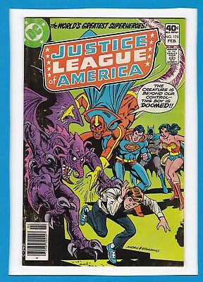 "Justice League Of America #175_Feb 1980_Fine Minus_""but Can An Android Dream?""!"