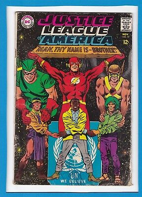 "Justice League Of America #57_November 1967_Good+_""man, Thy Name Is...brother""!"
