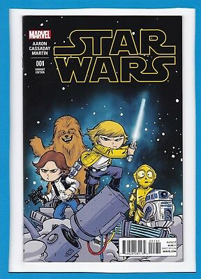 Star Wars #1_March 2015_Near Mint Minus_Fabulous First Issue_Variant Edition!