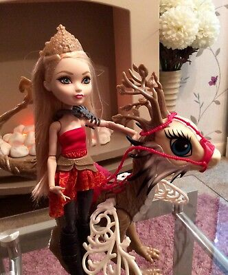 Ever After High Dragon Games Apple White Doll & Dragon Only Ever Been Displayed