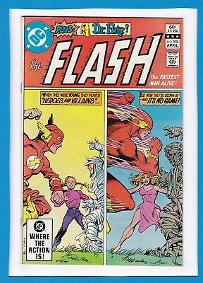"""The Flash #308_April 1982_Vf+_Doctor Fate_""""heroes And Villains""""_Bronze Age Dc!"""