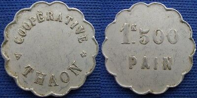 France, Thaon, Cooperative, 1 K 500 Pain (bread token)