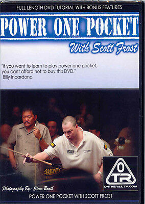 POWER ONE POCKET DVD WITH SCOTT FROST - Aggressive Moves from a Champion Player
