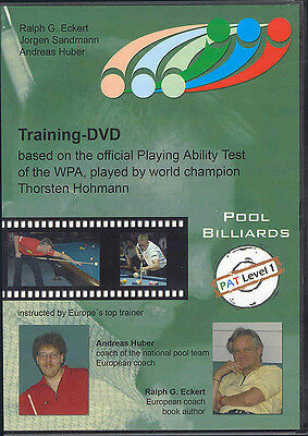 International Pool Ability Test LEVEL #1 DVD -  for New and Intermediate Players