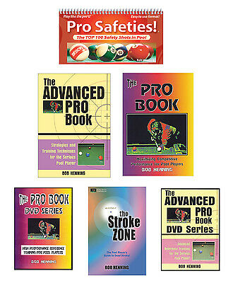 THE COMPLETE PRO BOOK SYSTEM - Serious POOL Training for Competitive Players