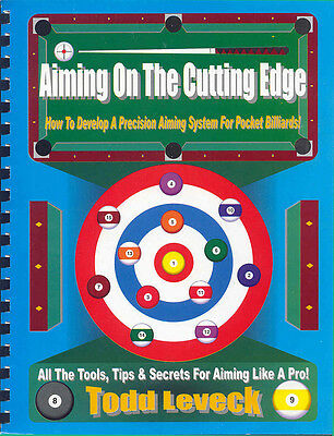 Aiming On The Cutting Edge - A Super Comprehensive Book On How To Aim Pool Shots
