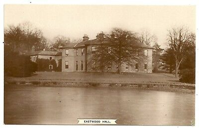 Notts postcard Nottingham Eastwood Hall