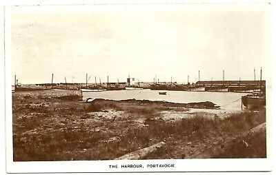 Ireland Co Down  postcard Portavogie the Harbour