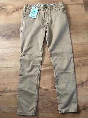 Boys Baker By Ted Baker Light Tan Brown Chinos New With Tags Age 9 Years