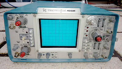 Tektronics 465M Oscilloscope Spares or Repair