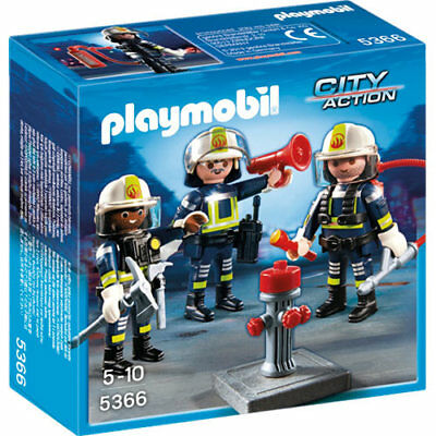 PLAYMOBIL Fire Rescue Crew - City 5366
