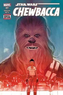 Star Wars Chewbacca #1 Marvel (2015) Near Mint First Print Bagged And Boarded