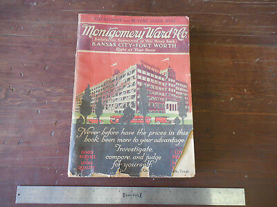 1916 Montgomery Ward & Co Catalog No 85