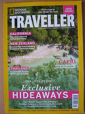 National Geographic Traveller July August 2016 California New Zealand Capri