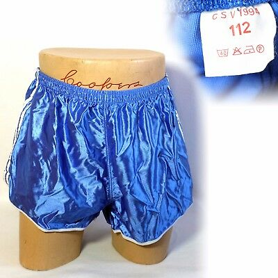 Vintage 1990s 1994 satin split side shorts L XL 38