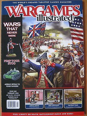 Wargames Illustrated February 2016
