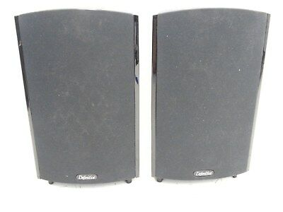 Pair Of Definitive Pro Monitor 1000 L&r Speakers Working