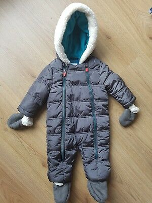 baby boy snowsuit 3-6 months TED BAKER