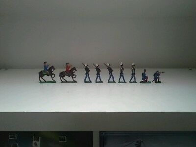 Vintage Flatcast Lead Toy Soldiers.britains Johillco
