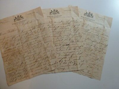 1893 Columbian Exposition Personal Letter From Pennsylvania State Building