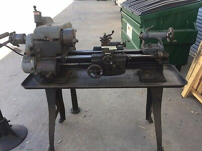 "Logan Lathe Model 1920 11"" Swing All Original With !!!LOADS OF TOOLING!!!"