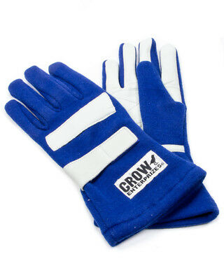 Crow Enterprises X-Small Blue Double Layer Driving Gloves P/N 11693