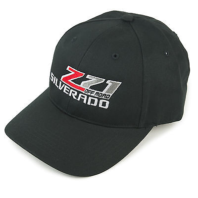 Silverado Z71 Off Road Truck Hat Cap Black SHIPPED IN A BOX