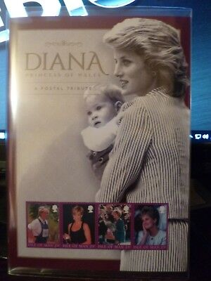 The Diana Stamps: A postal tribute to Diana, Princess of Wales - Isle of Man