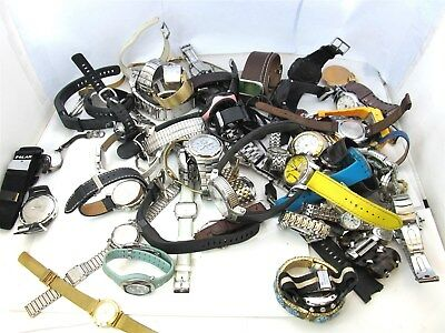 10.10LBS. Assorted Watch Lot-FOR PARTS OR REPAIR #7188A (OS)