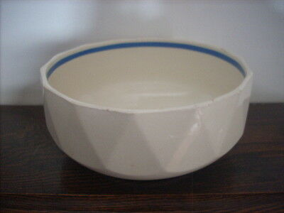 Large Arabia Suomi Banded Bowl