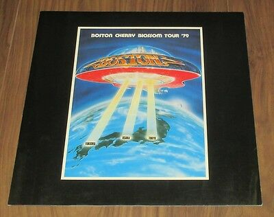 Boston JAPAN tour book 1979 Tom Scholz MORE in stock! CONCERT PROGRAM original