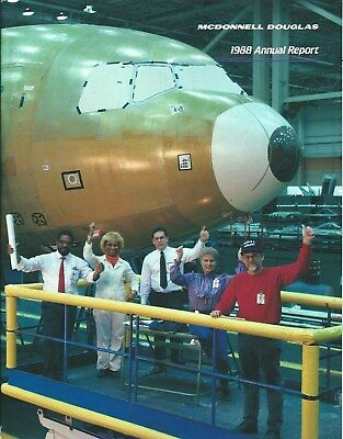 Annual Report - McDonnell Douglas - 1988 Financial - MD-11 cover (AR05)