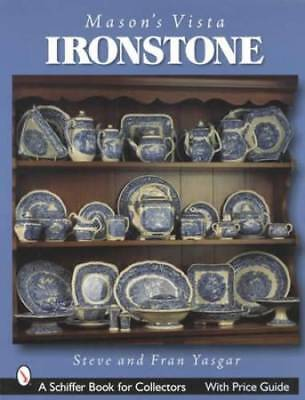 Mason's Vista Pattern Ironstone Collector ID Transferware English Castle Series