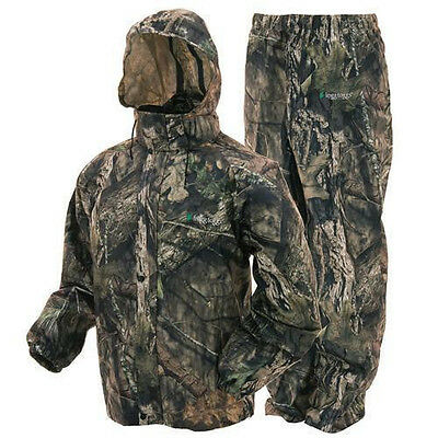 Frogg Toggs All Sport Suit Mossy Oak Country M, L, XL, 2XL Duck Deer Hunting NEW