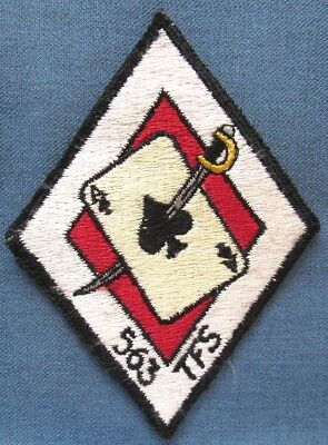 US Air Force 563rd Tactical Fighter Squadron shoulder patch