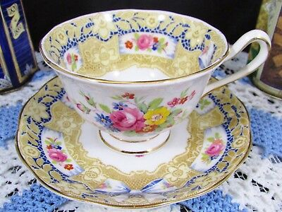 Rare Royal Albert Valentine Pink Rose Floral Lace Tea Cup And Saucer