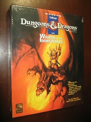 Wrath of the Immortals NEW SW Basic D&D Challenger box TSR '92 rpg