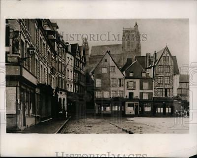 1940 Press Photo Abbeville France which has been captured by the Nazis