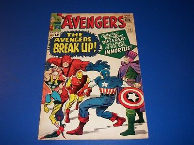 Avengers #10 Silver Age 1st Immortus Key Wow Solid VG