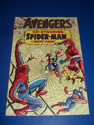 Avengers #11 Silver Age Spider-man Crossover  Key Wow