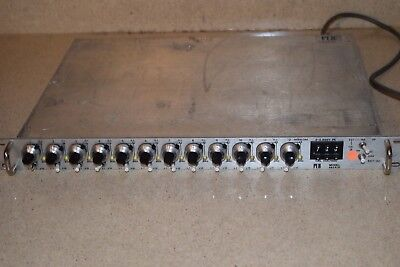 Pcb Model 483A10 Amplifier / Power Supply 12 Channels (Bb)
