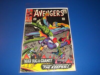 Avengers #31 Silver Age Quicksilver Scarlet Witch Wow VG