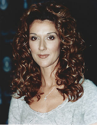 Celine Dion 8 X 10 Photo With Ultra Pro Toploader