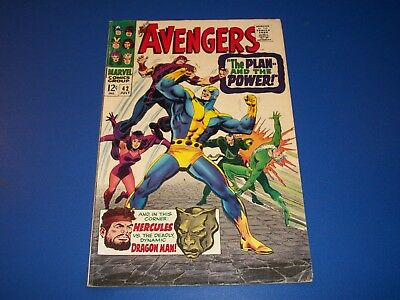 Avengers #42 Silver Age Quicksilver Solid VG+