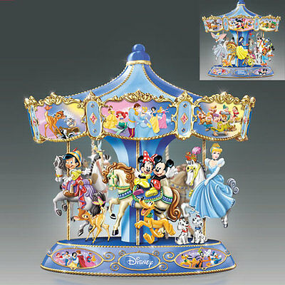 Ultimate Disney Carousel Bradford Exchange
