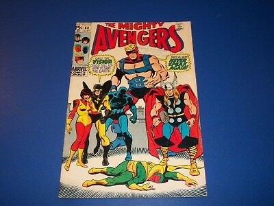 Avengers #68 Silver Age Vision Wow Ultron VG+