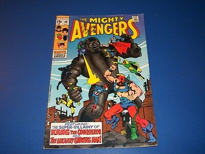Avengers #69 Silver Age Vision Wow VG+