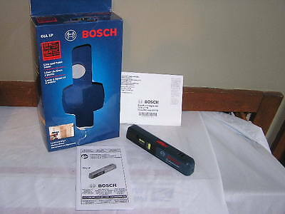 Used Bosch GLL1P Mini Laser Level Electric Tool Compact Line Laser