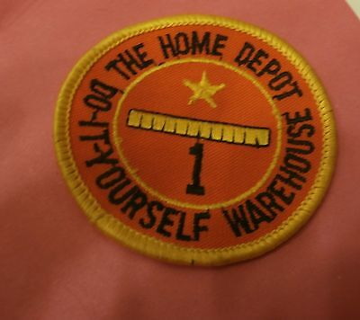 The Home Depot 1 Year Service Award New Patch