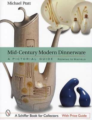 Mid-Century Modern Dinnerware Makers Guide Redwing to Winfield China Pattern ID